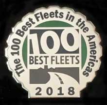 100 Best Fleets 2018 Lapel Pin 1